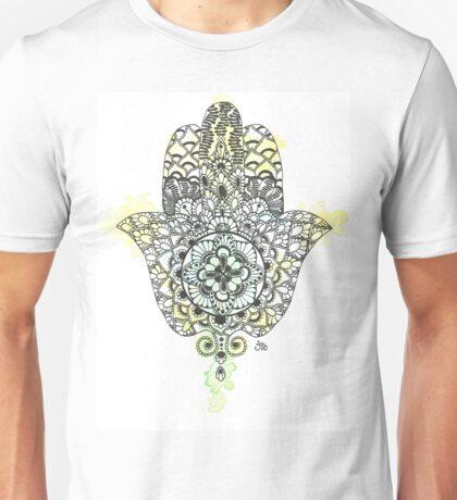 Watercolor Hamsa Hand Unisex T-Shirt