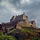 Edinburgh Castle, Scotland. by Aj Finan