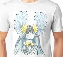 Watercolor and ink Greek Goddess Unisex T-Shirt