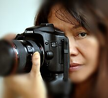 Canon EOS 40D and Model by Raoul Isidro