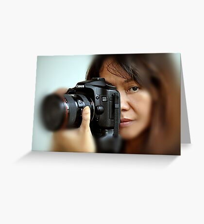 Canon EOS 40D and Model Greeting Card