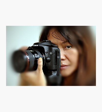 Canon EOS 40D and Model Photographic Print