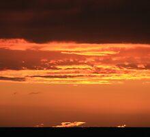 Sunset from Cottesloe by Jordan N Clarke