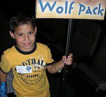 Boy in the Blue Wolfpack by jannalynn