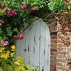 The garden gate by Heather Thorsen