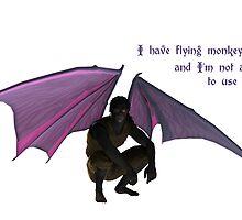 Flying Monkey by MichelleIacona