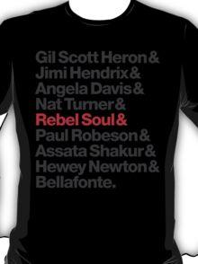 Rebel Soul Helvetica Ampersand T-Shirts & More T-Shirt