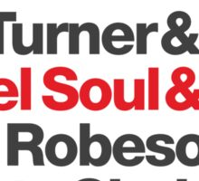 Rebel Soul Helvetica Ampersand T-Shirts & More Sticker