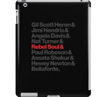 Rebel Soul Helvetica Ampersand T-Shirts & More iPad Case/Skin