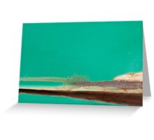 Shoreline Study Greeting Card