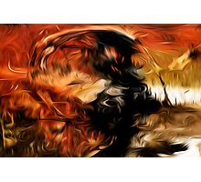 Abstract Colors Oil Painting #18 Photographic Print