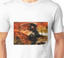 Abstract Colors Oil Painting #18 Unisex T-Shirt