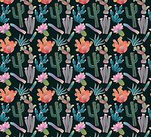 Desert Nights Seamless Pattern by kennasato