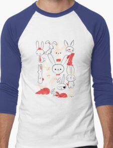 Bunnies Men's Baseball ¾ T-Shirt
