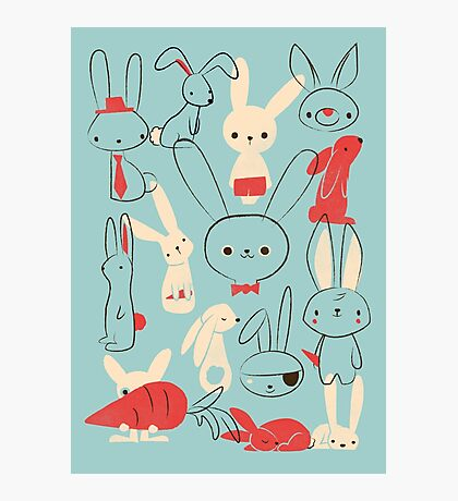 Bunnies Photographic Print