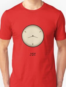 Japan Standard Time JST Clock T-Shirt