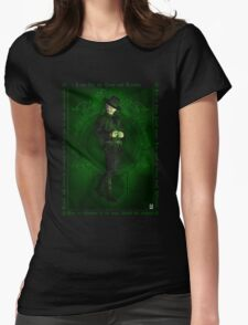 Steampunk Oz: The Wizard Womens Fitted T-Shirt