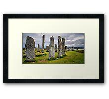 Callanish Stones Framed Print