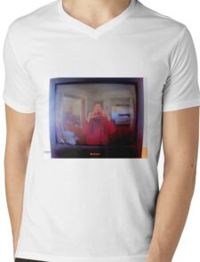Not So Candid Camera Mens V-Neck T-Shirt