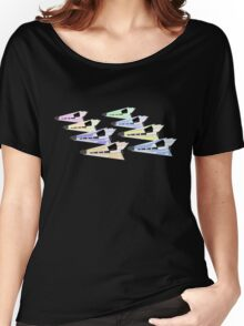 Simplistic Starships Women's Relaxed Fit T-Shirt