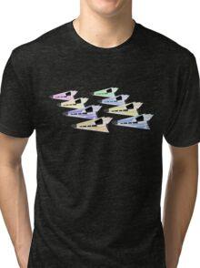 Simplistic Starships Tri-blend T-Shirt