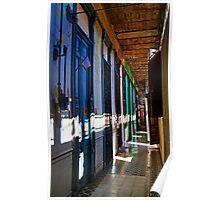 Appartments & hallway, La Guarida building, Havana, Cuba Poster