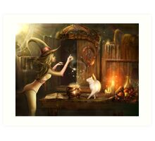 Touch of magic Art Print