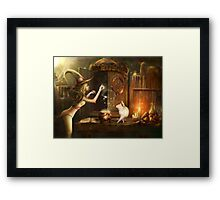 Touch of magic Framed Print