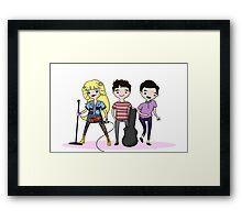 Darren, Hedwig, Blaine Framed Print