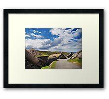 Gearrannan Framed Print