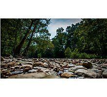 River Stones Photographic Print