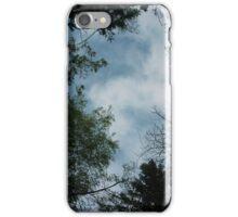 Sky from below iPhone Case/Skin