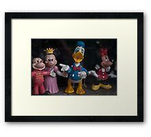 Donald Duck and Friends Framed Print