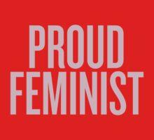 Proud Feminist Kids Tee