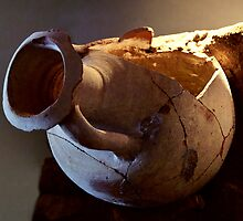 Greek Amphora by MariaVikerkaar