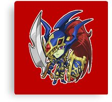 Black Luster Soldier Icon - Yugioh! Canvas Print
