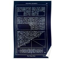A Handbook Of Ornament With Three Hundred Plates Franz Sales Meyer 1896 0279 Enclosed Ornament Oblong Panel Inverted Poster