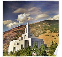 Draper LDS Temple Poster