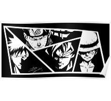 Shonen Jump Heroes Poster