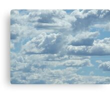30 Clouds Canvas Print