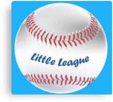 Little League Canvas Print