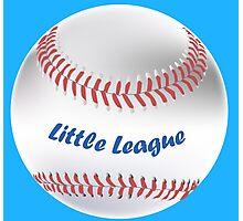 Little League Photographic Print