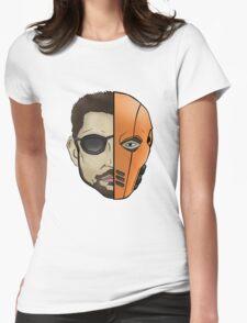 Slade Wilson/Deathstroke Womens Fitted T-Shirt