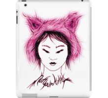 Not your Kitty - Pink iPad Case/Skin