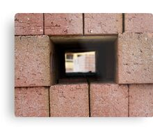 Through the brick wall Metal Print