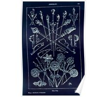 A Handbook Of Ornament With Three Hundred Plates Franz Sales Meyer 1896 0497 Jewelry Pin Inverted Poster