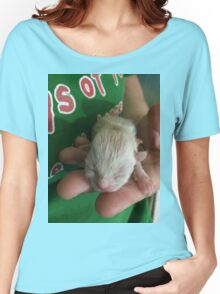 Newborn Kitten Women's Relaxed Fit T-Shirt
