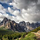 Valley of the Ten Peaks, Banff NP by Teresa Zieba