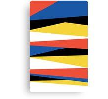 Block Color Canvas Print
