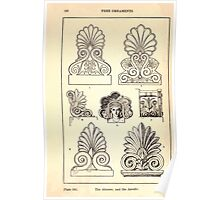 A Handbook Of Ornament With Three Hundred Plates Franz Sales Meyer 1896 0184 Free Ornaments Akroter Antefix Poster